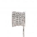 Strass band Diamonds, Diameter 7mm